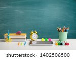 back to school concepty with... | Shutterstock . vector #1402506500