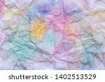abstract watercolor pattern on... | Shutterstock . vector #1402513529
