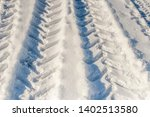 the pattern of the wheels of... | Shutterstock . vector #1402513580