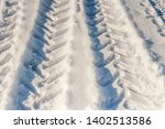 the pattern of the wheels of... | Shutterstock . vector #1402513586