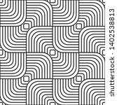 seamless pattern with black... | Shutterstock .eps vector #1402538813