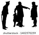 people of special police force...   Shutterstock .eps vector #1402570259