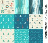 Nine Seamless Patterns Of...