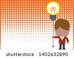 standing male manager tie...   Shutterstock .eps vector #1402632890