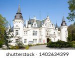 the historic castle jelcz... | Shutterstock . vector #1402634399