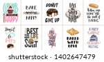 set of bakery and sweet food... | Shutterstock .eps vector #1402647479