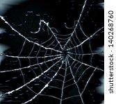 abstract spider web vector... | Shutterstock .eps vector #140268760