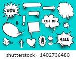 comic text speech bubble pop...   Shutterstock .eps vector #1402736480