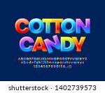 vector colorful logo cotton... | Shutterstock .eps vector #1402739573