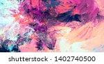 bright artistic splashes.... | Shutterstock . vector #1402740500
