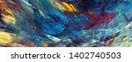 bright artistic splashes.... | Shutterstock . vector #1402740503