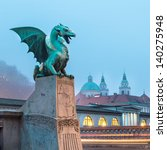 Famous Dragon Bridge  Zmajski...