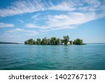 view of fraueninsel with... | Shutterstock . vector #1402767173
