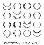 collection of different black... | Shutterstock .eps vector #1402776470