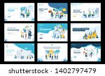 collection of modern template... | Shutterstock .eps vector #1402797479