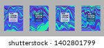 covers templates set with...   Shutterstock .eps vector #1402801799