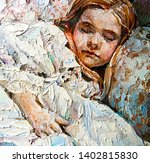 Little Sleeping Beauty On The...