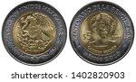 Mexico Mexican Bimetallic Coin...