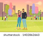 vector illustration of cartoon... | Shutterstock .eps vector #1402862663