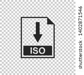 iso file document icon....