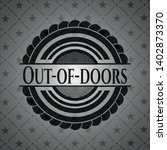 out of doors black emblem.... | Shutterstock .eps vector #1402873370