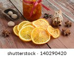 Decoration With Dried Orange...