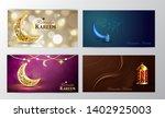 ramadan kareem  greeting... | Shutterstock .eps vector #1402925003