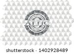 attic grey emblem with cube... | Shutterstock .eps vector #1402928489