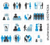 office business icons.... | Shutterstock .eps vector #140294266
