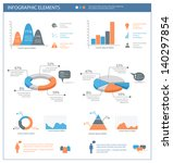 detailed infographic elements... | Shutterstock .eps vector #140297854