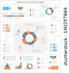 detailed infographic elements... | Shutterstock .eps vector #140297884