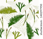 eco style seamless texture.... | Shutterstock .eps vector #140297950