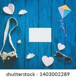 creative children's background  ... | Shutterstock . vector #1403002289