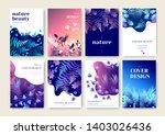set of marketing brochure... | Shutterstock .eps vector #1403026436