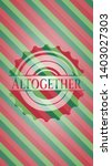 altogether christmas colors... | Shutterstock .eps vector #1403027303