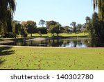 Serene Lake In Perth City...