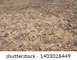 Gray land gravel background, gravel land pavement background material