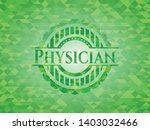 physician green emblem with...   Shutterstock .eps vector #1403032466