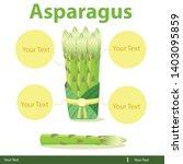 illustrator of asparagus...   Shutterstock .eps vector #1403095859