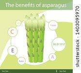 illustrator of asparagus...   Shutterstock .eps vector #1403095970