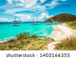 White Bay Beach, Jost Van Dyke, British Virgin Islands.