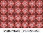 Quatrefoil Raster Pattern....