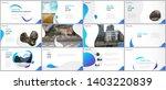 minimal presentations design ... | Shutterstock .eps vector #1403220839