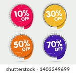 super sale and special offer.... | Shutterstock .eps vector #1403249699