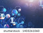 abstract background with...   Shutterstock . vector #1403261060