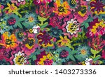 vector seamless pattern with... | Shutterstock .eps vector #1403273336