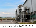 air pollution control equipment ... | Shutterstock . vector #1403281916
