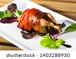 image of delicious wrapped in... | Shutterstock . vector #1403288930