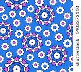 seamless oriental ornamental...   Shutterstock .eps vector #1403373110