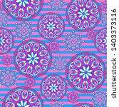 seamless oriental ornamental...   Shutterstock .eps vector #1403373116